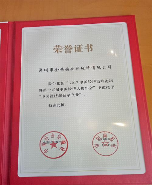 中国经济新领军企业